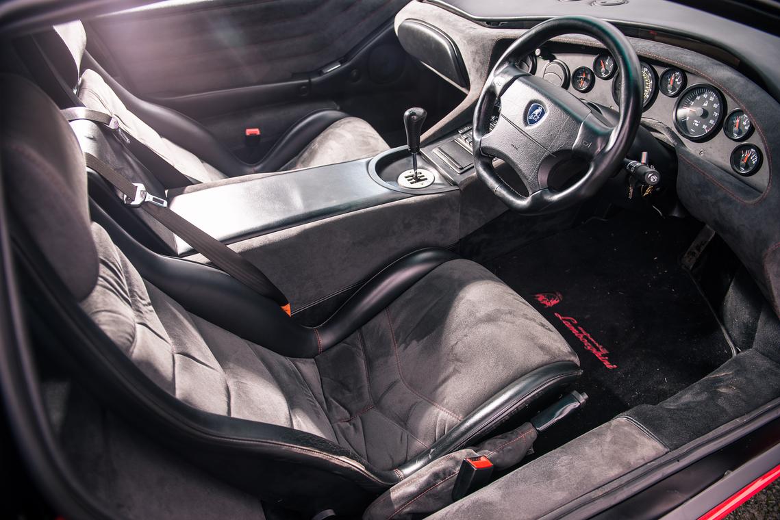 1999 Lamborghini Diablo SV - último fabricado_interior