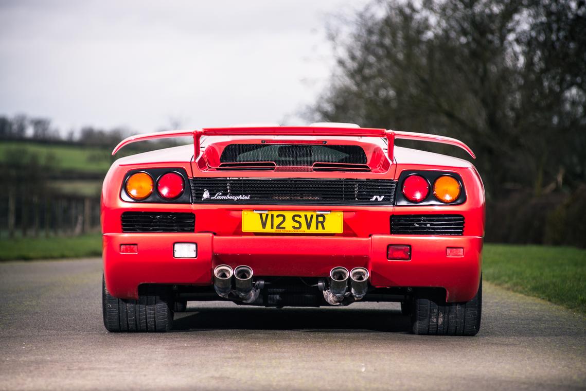 1999 Lamborghini Diablo SV - último fabricado_trasera