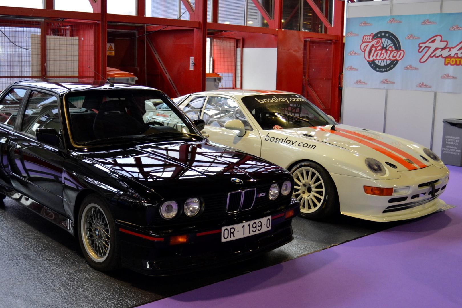 ClassicAuto2016 - BMW M3 E30 & Porsche 968