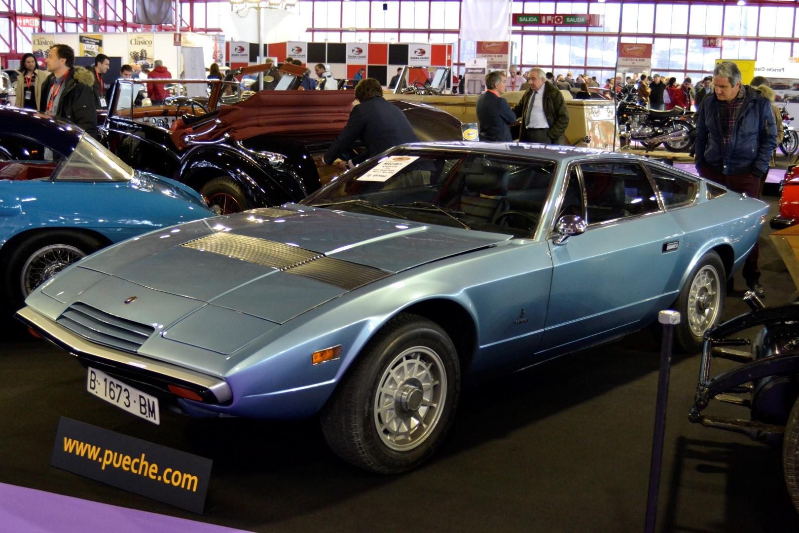 ClassicAuto2016 - Maserati Khamsin