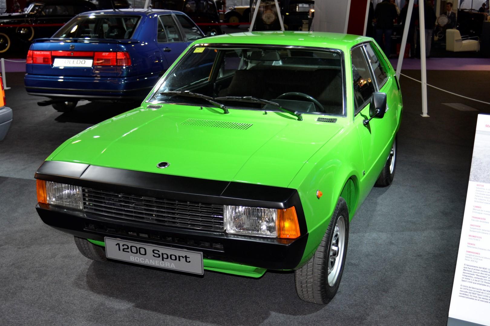 ClassicAuto2016 - SEAT 1200 Sport Bocanegra