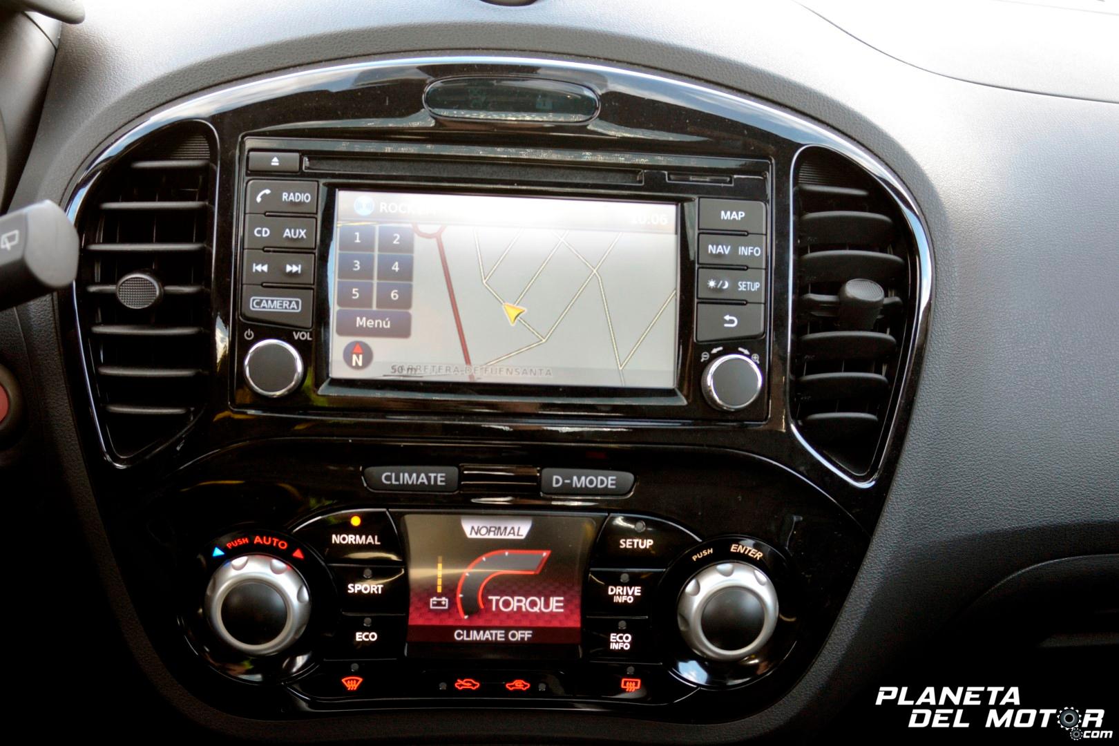 Nissan Juke Tekna_salpicadero_ Torque