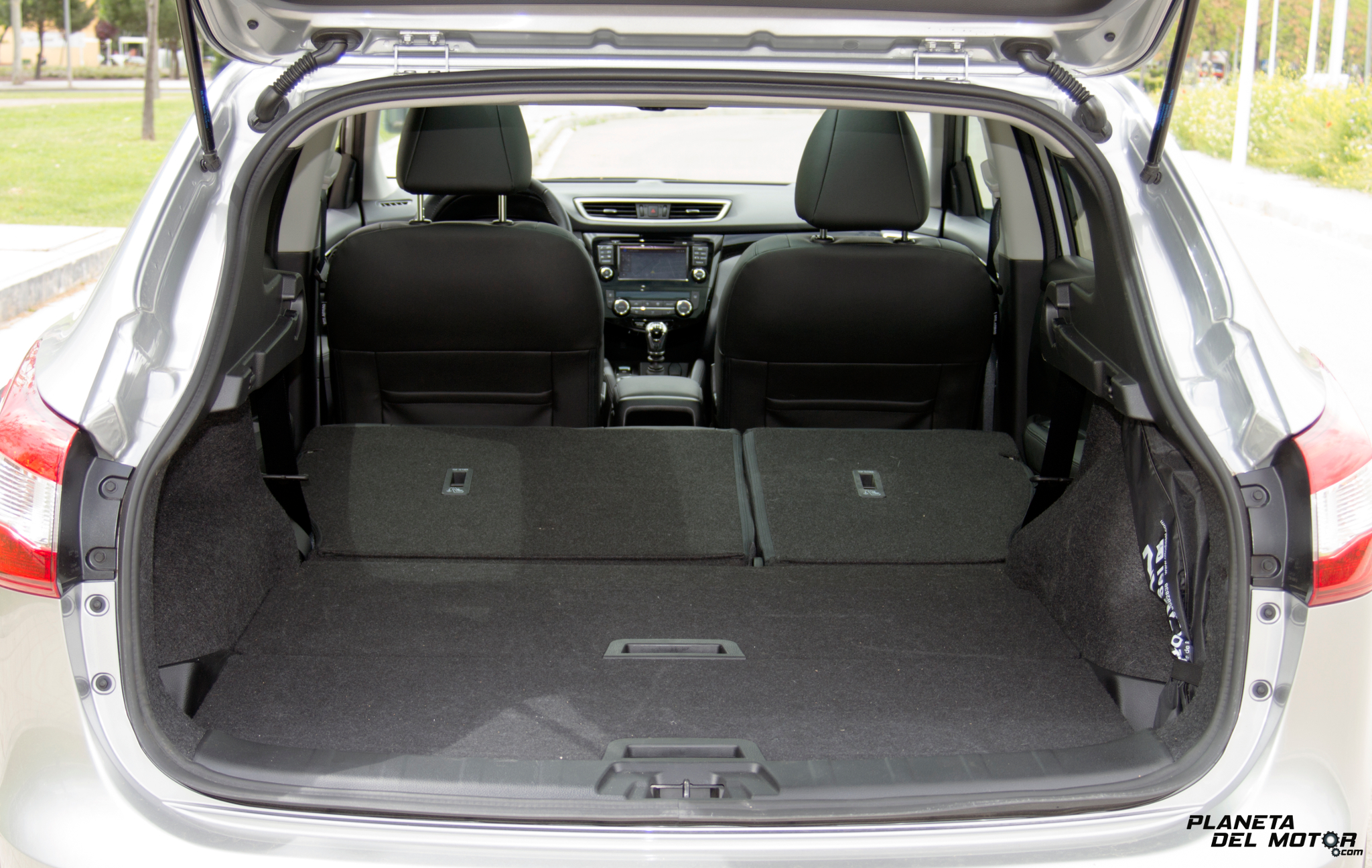 prueba_Nissan Qashqai 1.2 DIG-T Tekna_asientos abatidos