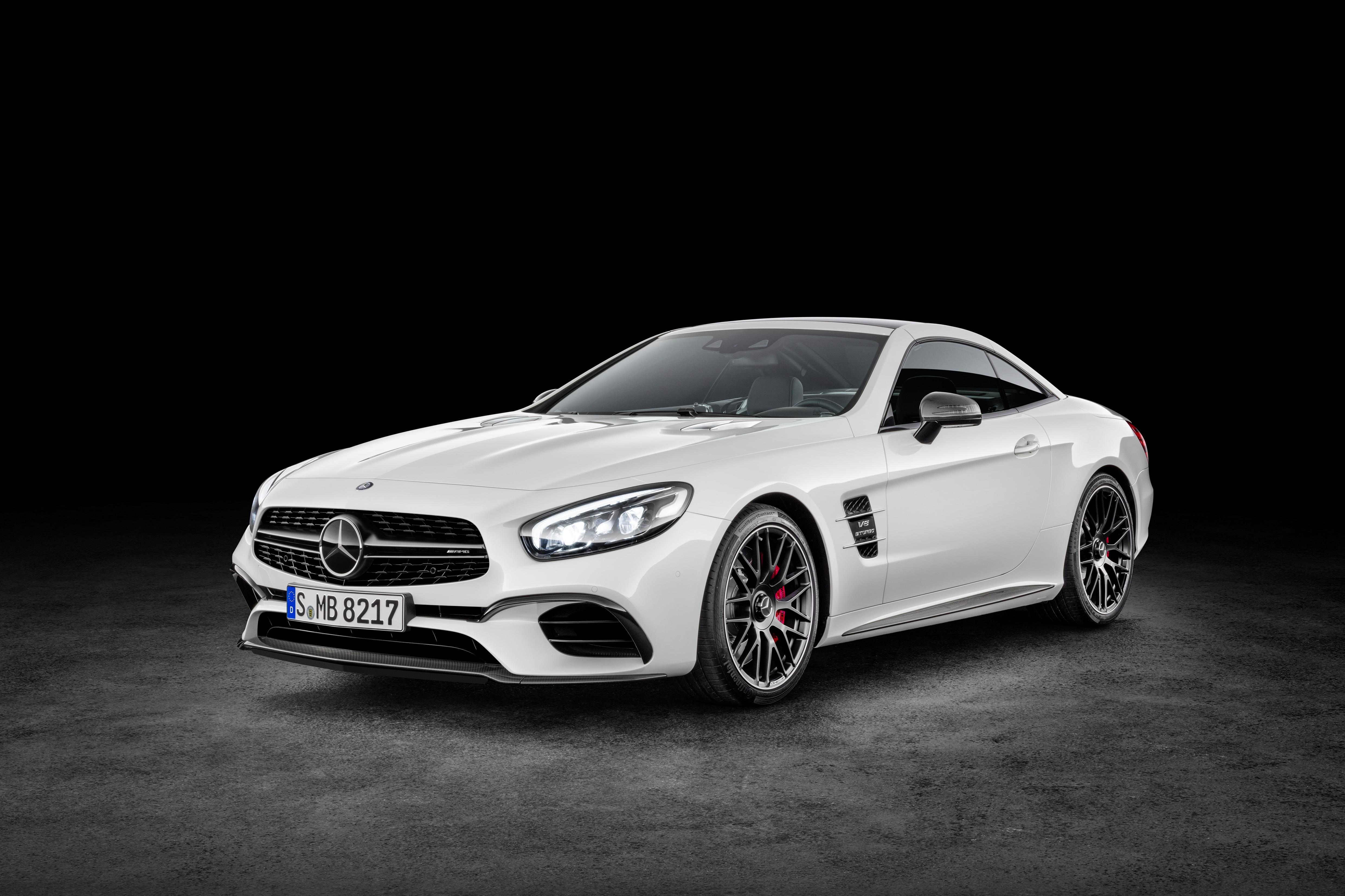 Mercedes AMG SL 63 ( Studio), Diamantweiß