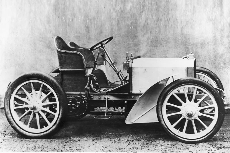 1901 Daimler Mercedes 35 HP