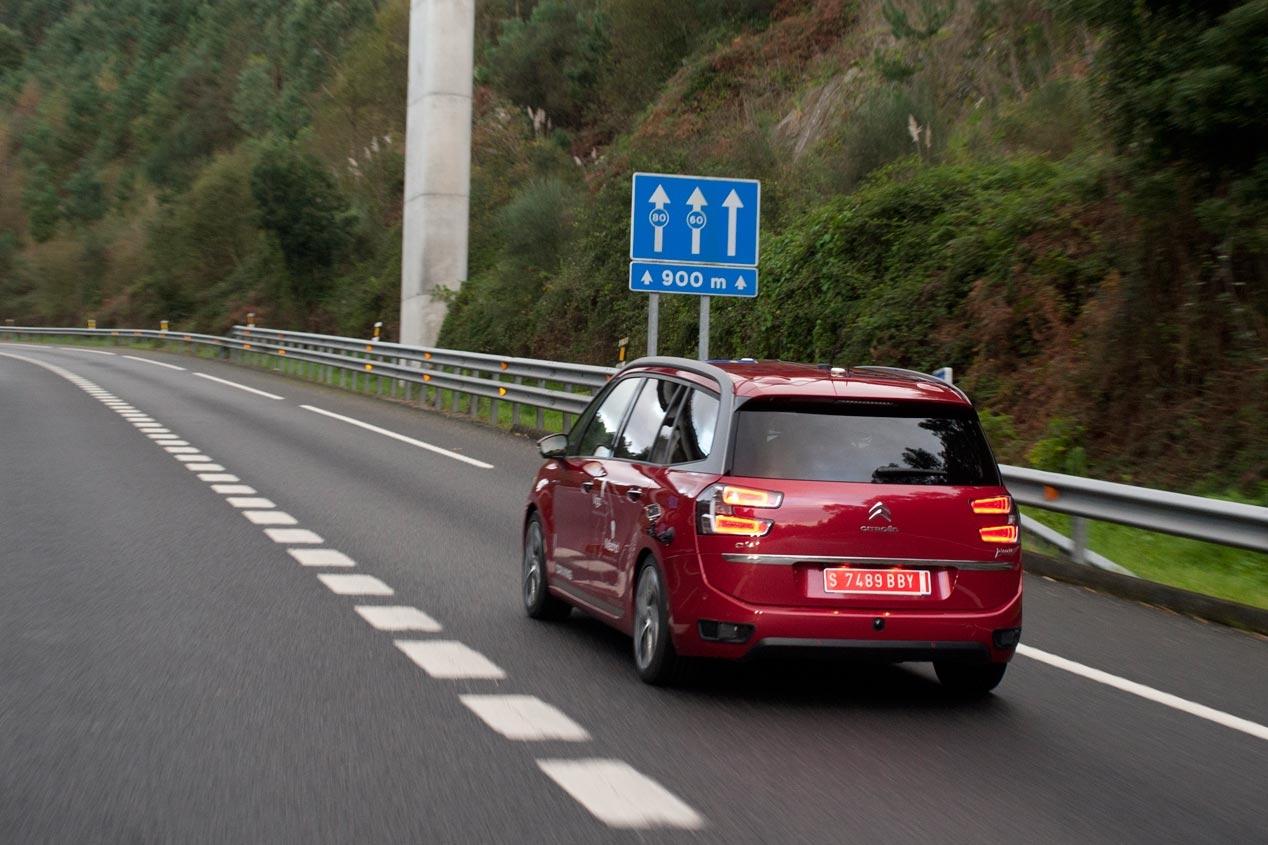 Citroën C4 Grand Picasso autónomo - Madrid-Vigo_2