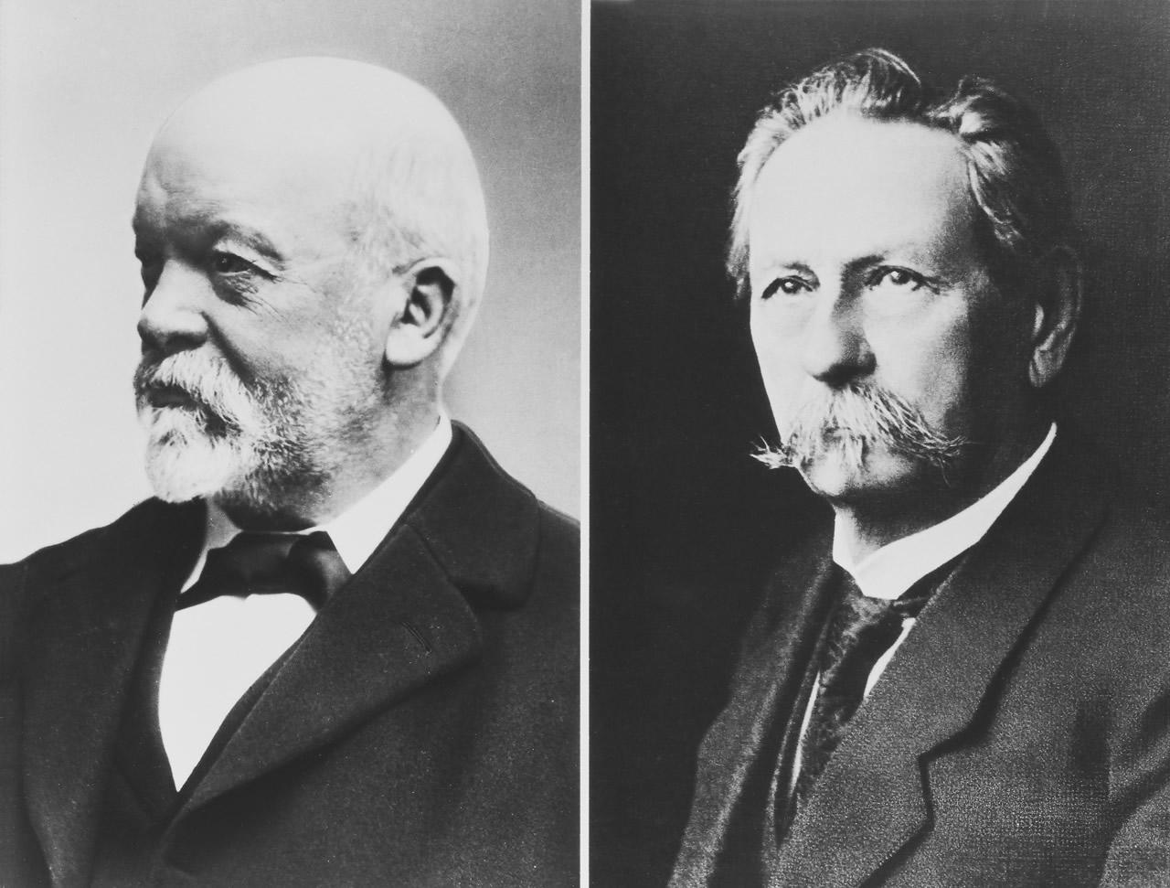 Gottlieb Daimler y Carl Benz