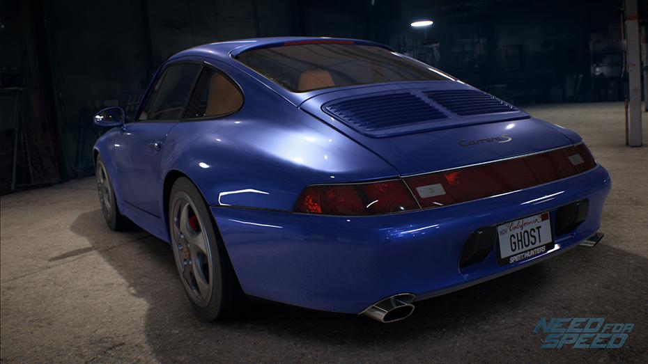 Porsche 993 Carrera S en el nuevo Need for Speed - Foto: NFS.wikia.com