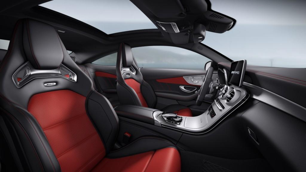 interio c63 coupe