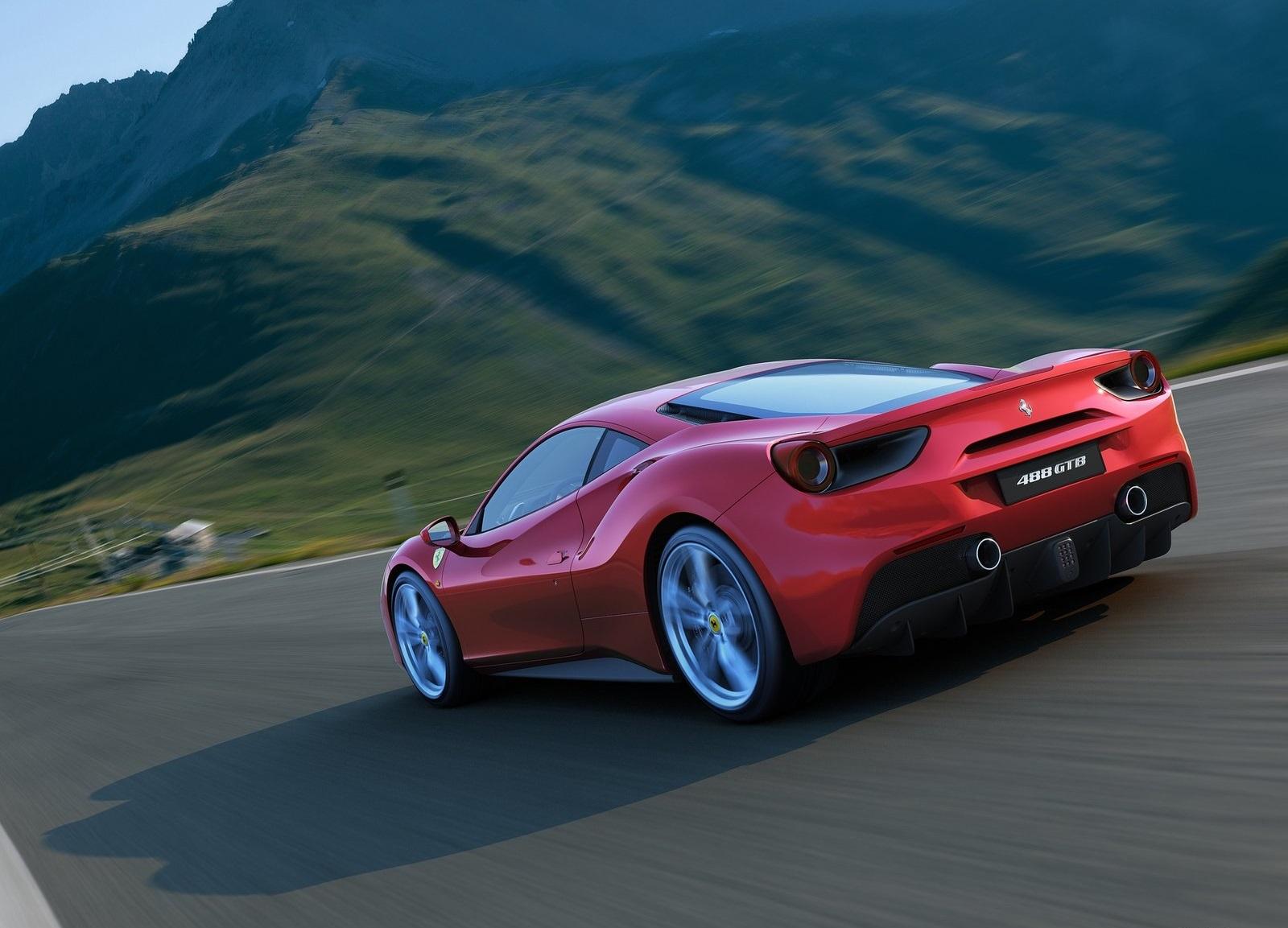 Ferrari 488 GTB - foto estudio