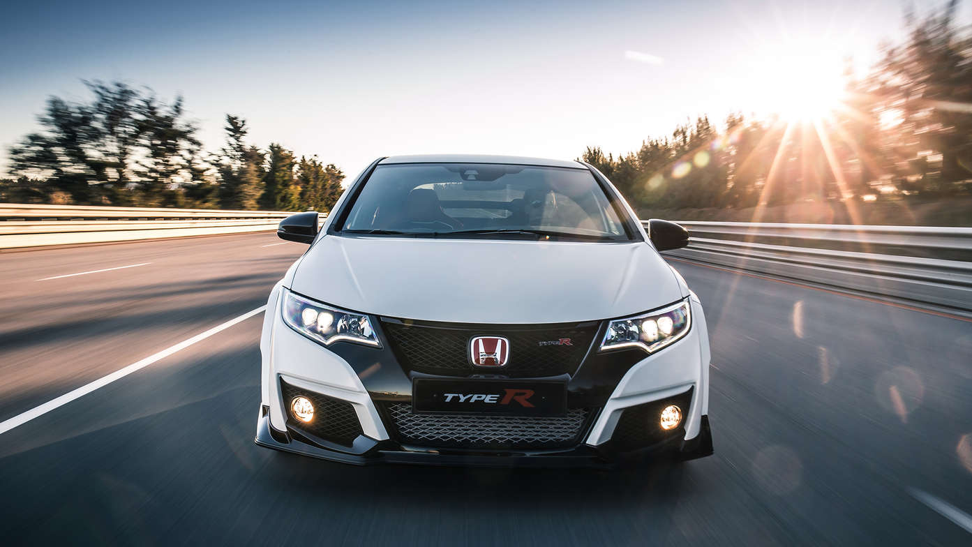 Honda Civic Type R - vista frontal