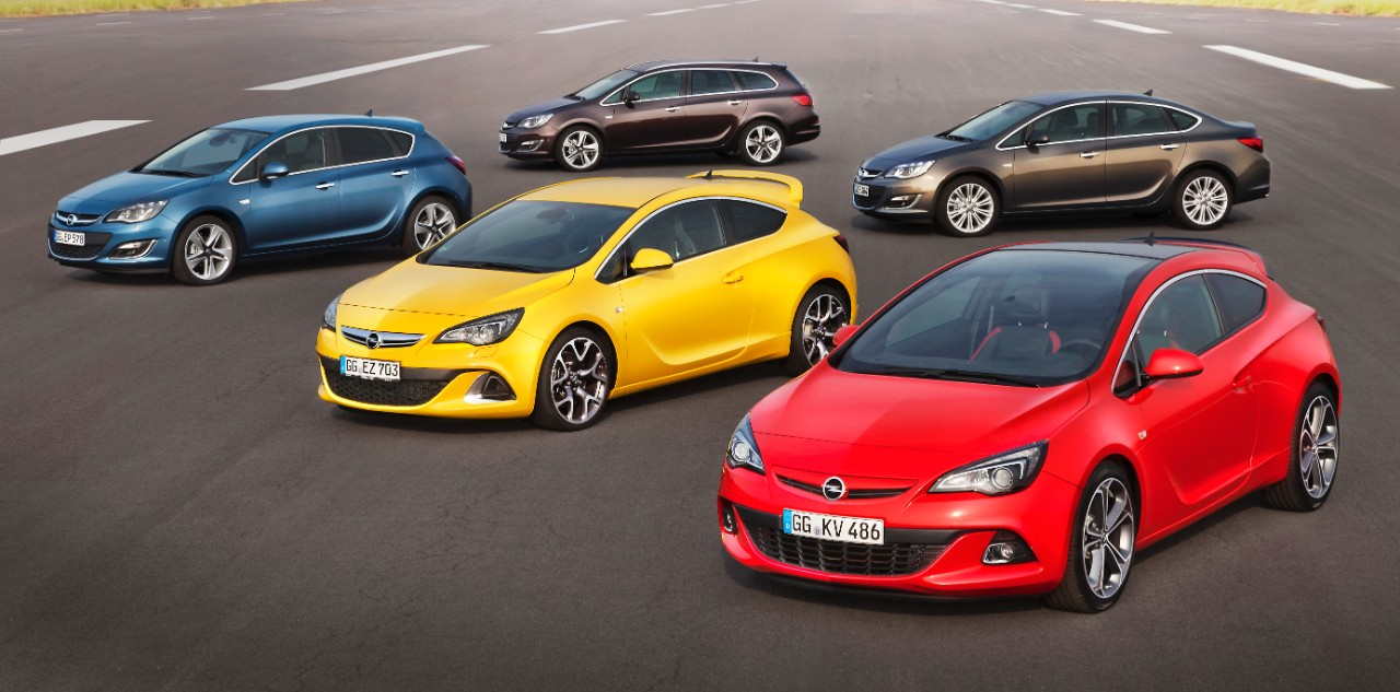 Opel gama Astra
