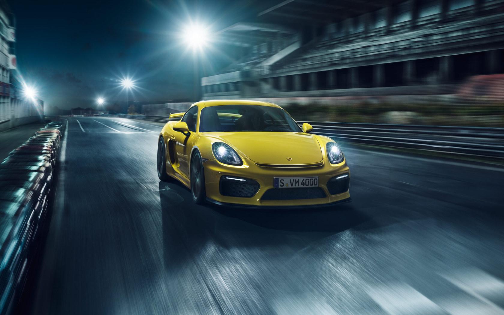 Porsche Cayman GT4 - foto circuito