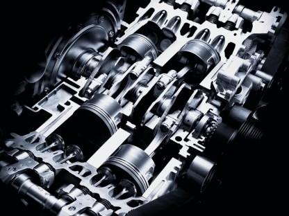 Motor boxer de 4 cilindros (Flat-4) AL estar los cilindros horizontales y enfrentados, la altura del conjunto es mínima y el peso se concentra en punto muy bajo. Esto es clave para la estabilidad y la mayor ventaja de esta disposición - Foto: Flatsixes.com
