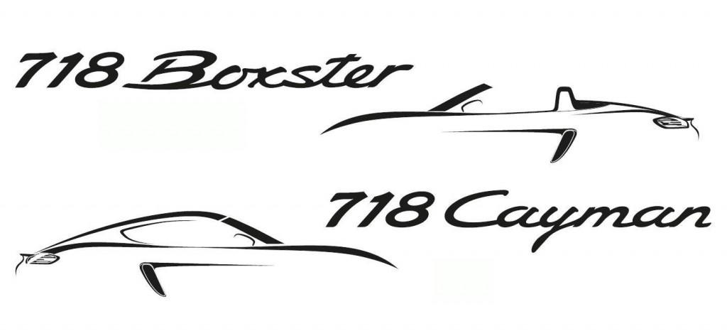 Éstos son los bocetos que Porsche nos ha dejado ver para este proyecto