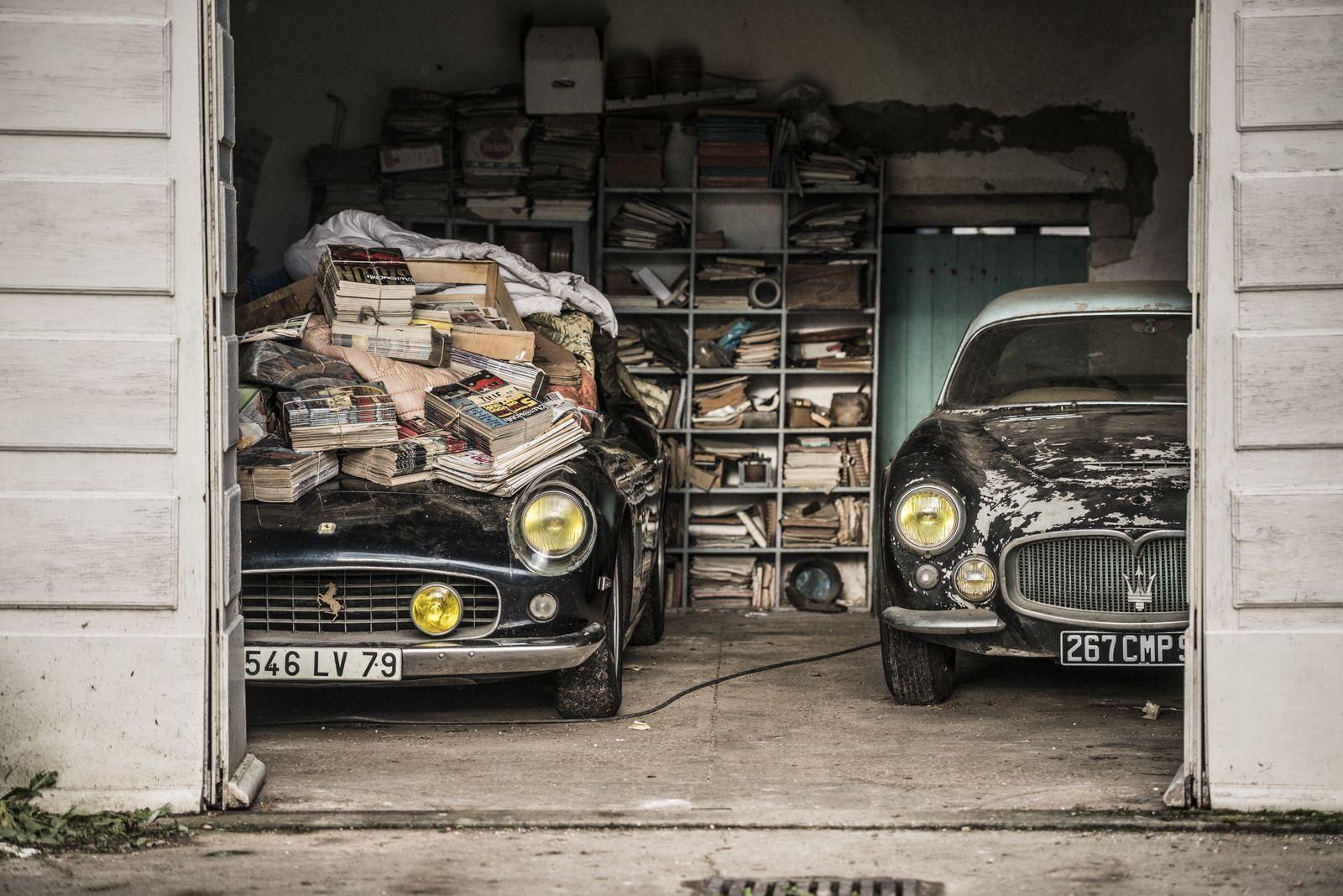 1961 Ferrari 250 GT SWB California Spider Chassis 2935 - Ex Alain Delon & 1956Maserati A6G 2000 Gran Sport Berlinetta Frua