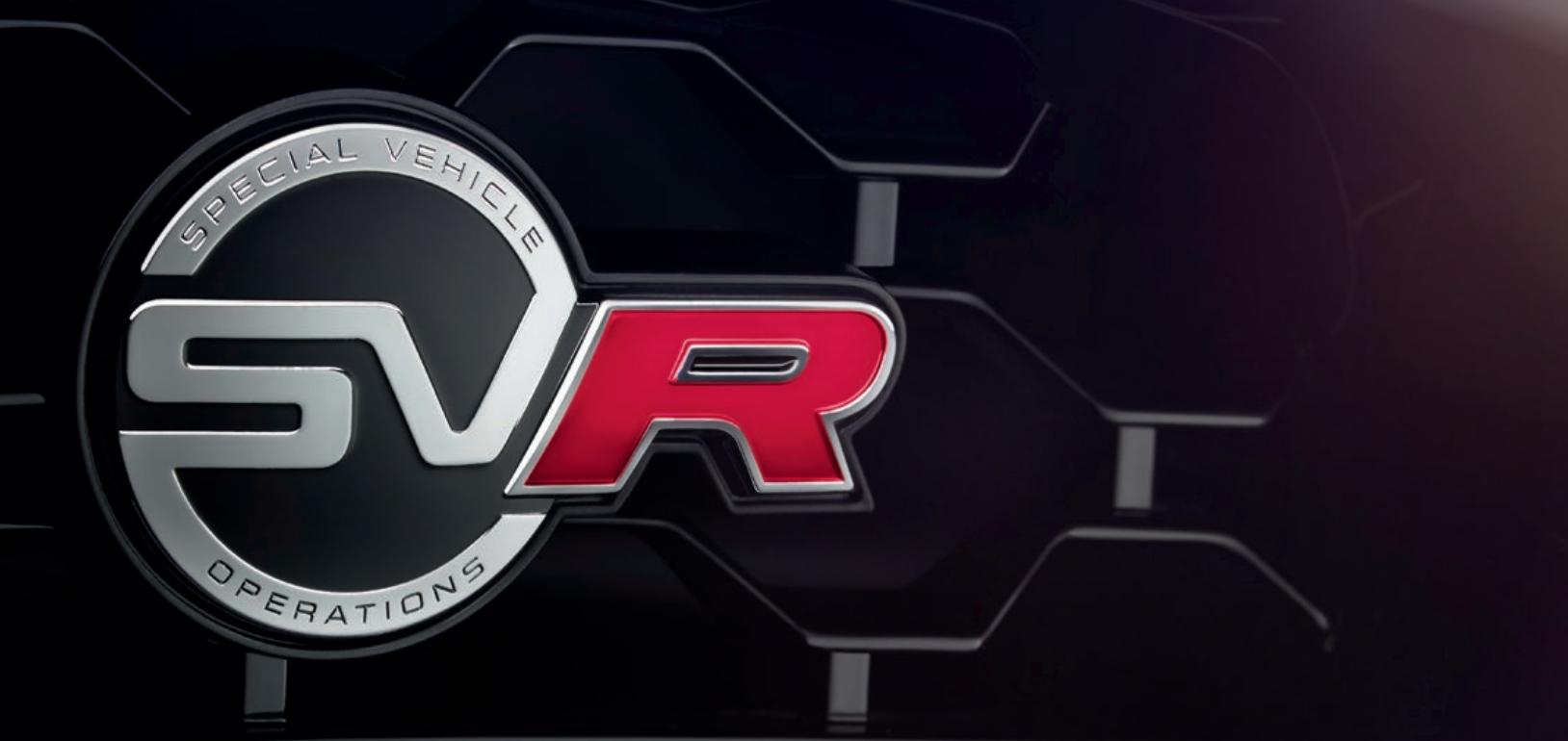 Jaguar F-Type SVR - filtración_detalle logo