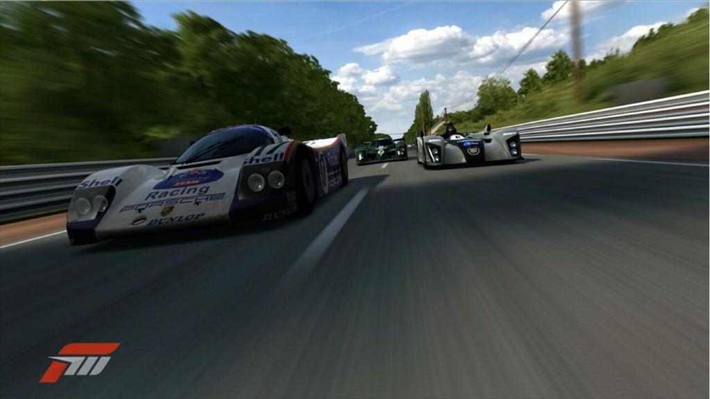 El Porsche 962 en Forza Motorsport 3 (Xbox 360) - Foto: Gustingorriz