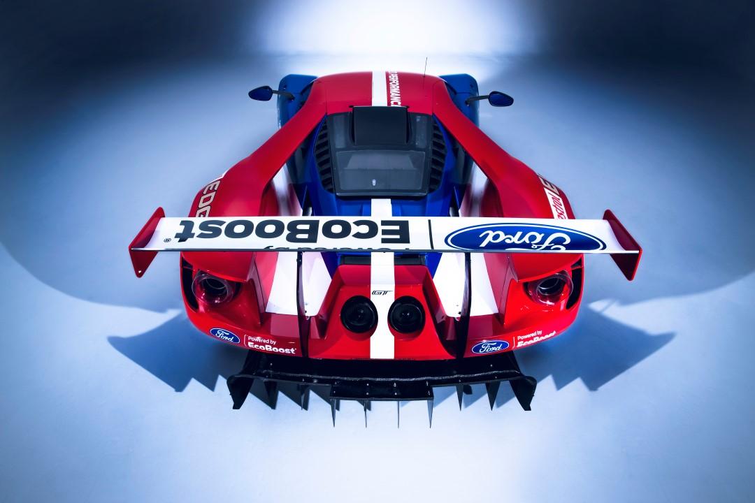 Ford GT GTE Pro_Le Mans_trasera elevada (Custom)
