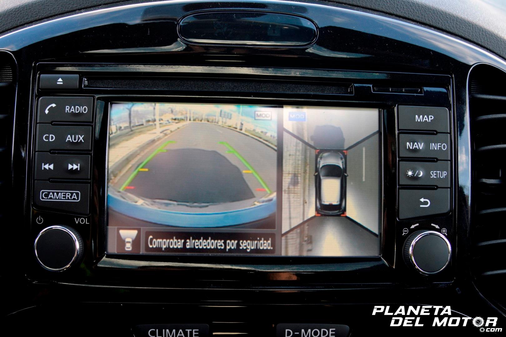 Nissan Juke Tekna_detalle cámaras