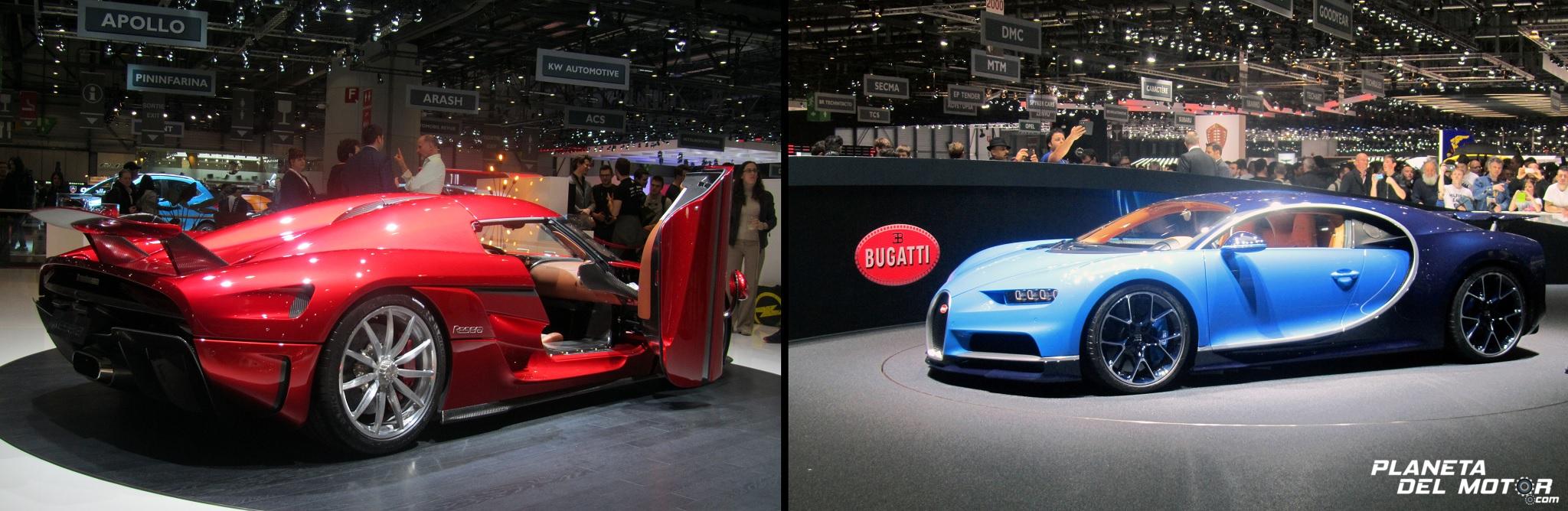 Koenigsegg Regera & Bugatti Chiron