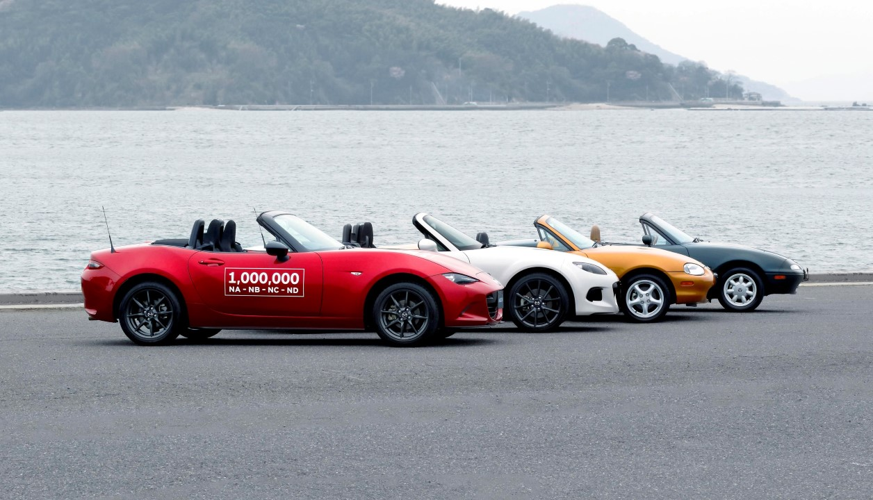 Mazda MX-5 - all generations
