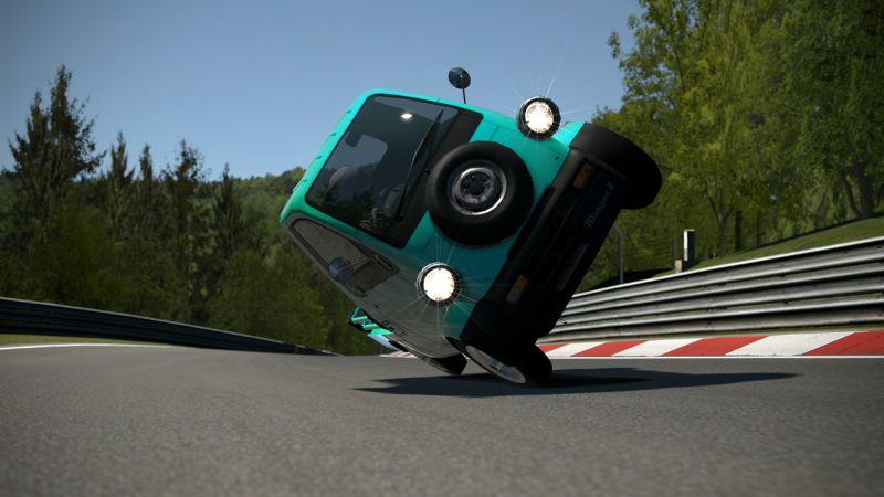 Gran Turismo tiene en su mayoría coches japoneses de rendimiento...y luego cosas como la Daihatsu Midget