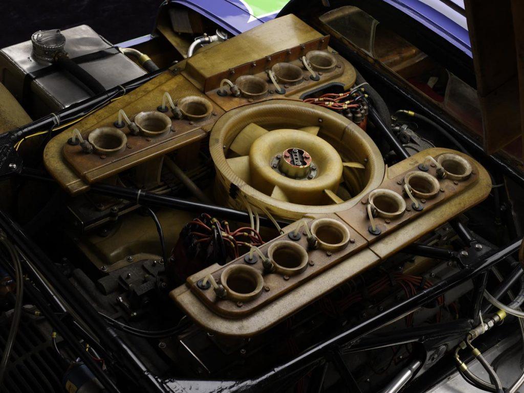 12 cilindros bóxer y un ventilador que no tuvieron rival - Foto: simeonemuseum.org