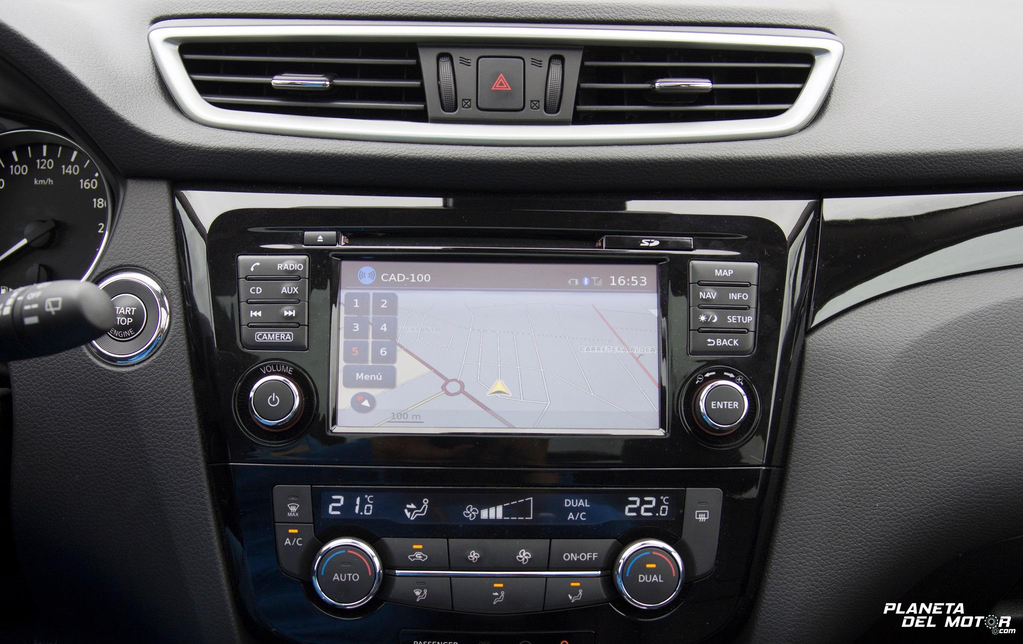 prueba_Nissan Qashqai 1.2 DIG-T Tekna_salpicadero