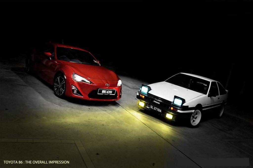 Ojalá nos encontremos una reinterpretación tan conseguida como la del GT86 - Foto: Malaviaads