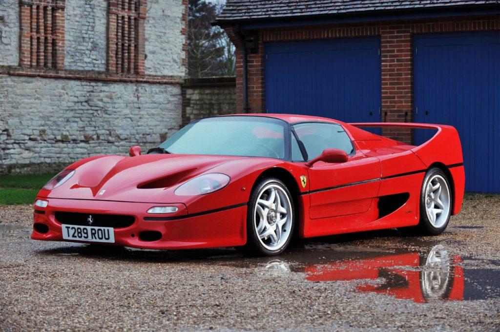 Todo un símbolo de los 90 que representaba al Ferrari de los años 40