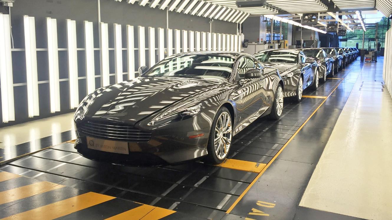 Aston Martin DB9 - Last of 9