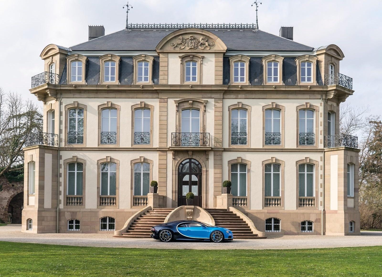 Bugatti Chiron_proceso de compra_castillo Molsheim