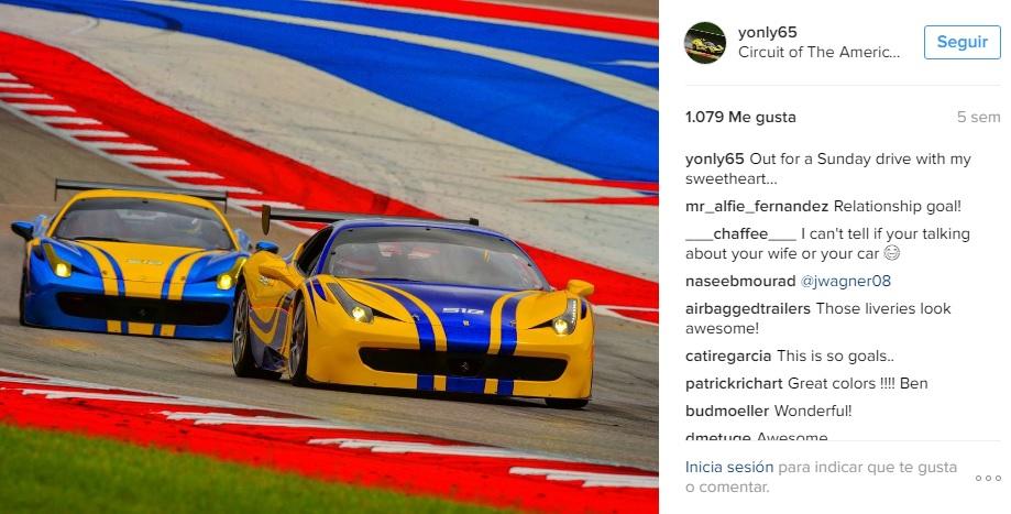 Colección Ben Sloss_Ferrari 458 GT3 x2