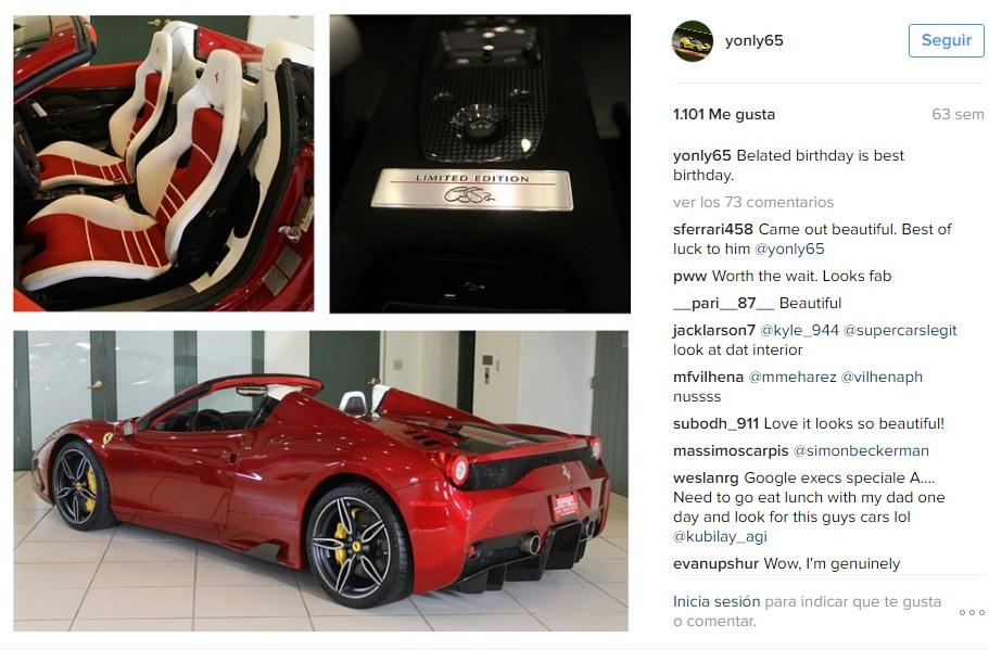 Colección Ben Sloss_Ferrari 458 Speciale Aperta