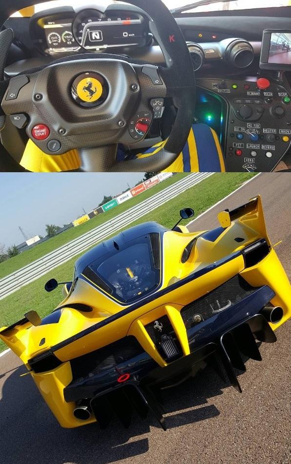 Colección Ben Sloss_Ferrari FXX K_interior