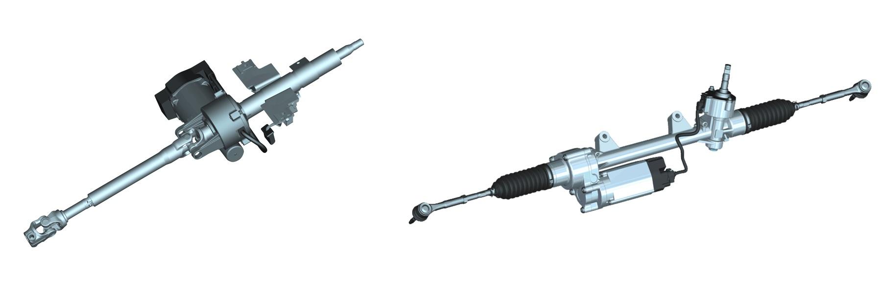 Dirección asistida eléctrica - disposición del motor eléctrico - Bosch