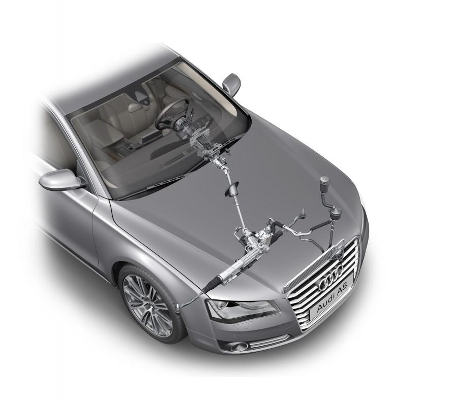 Dirección asistida hidráulica - Audi A8