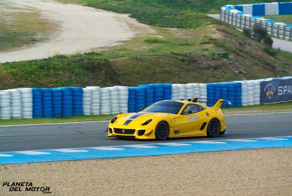Ferrari 599XX Evo - Ben Sloss - Corse clienti Jerez