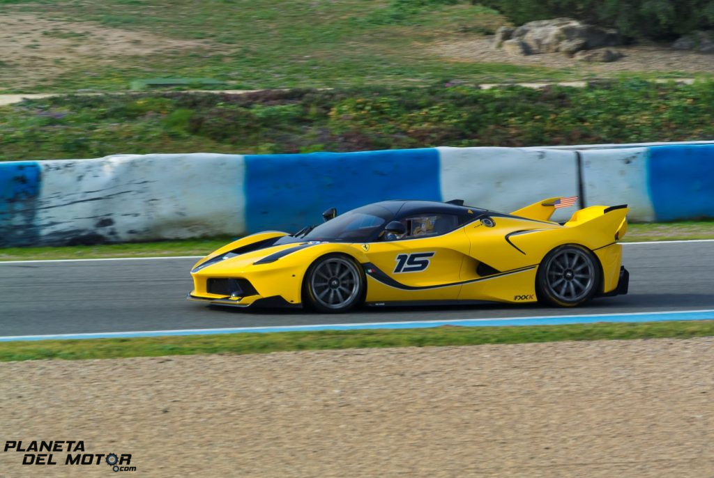 Ferrari FXX K - Ben Sloss - Corse clienti Jerez