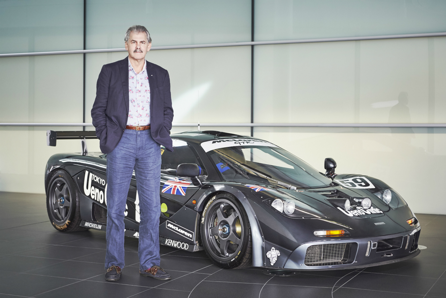 McLaren F1 GTR con Gordon Murray