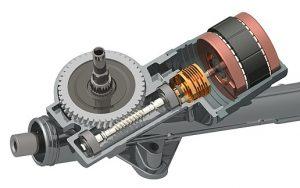 Motor eléctrico - dirección asistida eléctrica EPAS