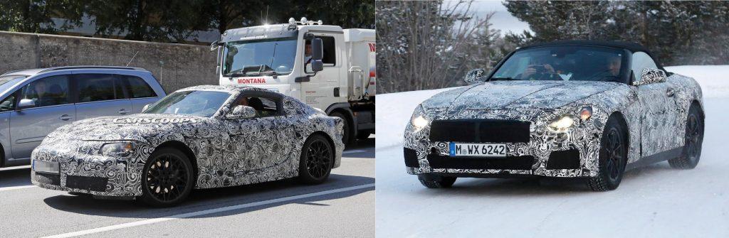 Diferencia entre el futuro Supra y el BMW Z5 (Foto del Z5: autoexpress.co.uk)