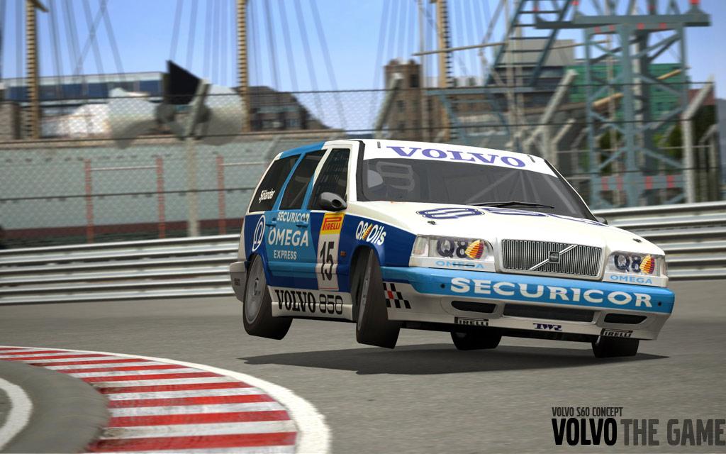 Volvo: The Game. Juego de SimBin homenajeando a la marca sueca