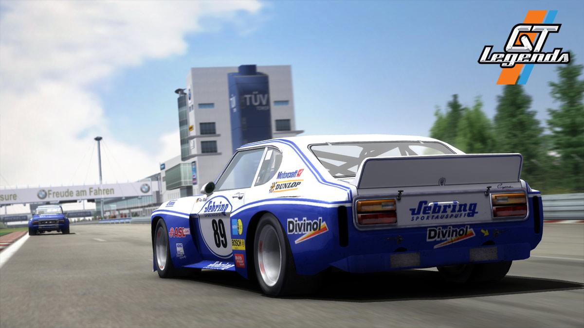 GT Legends: GTR inspirado en la época de los 60 y 70