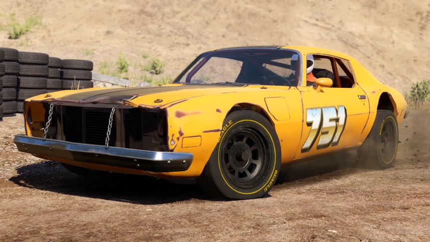 Next Car Game: Wreckfest. Lamentablemente no tiene nada que ver con el futuro FlatOut