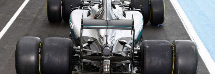 Formula 1 2017 Cambios