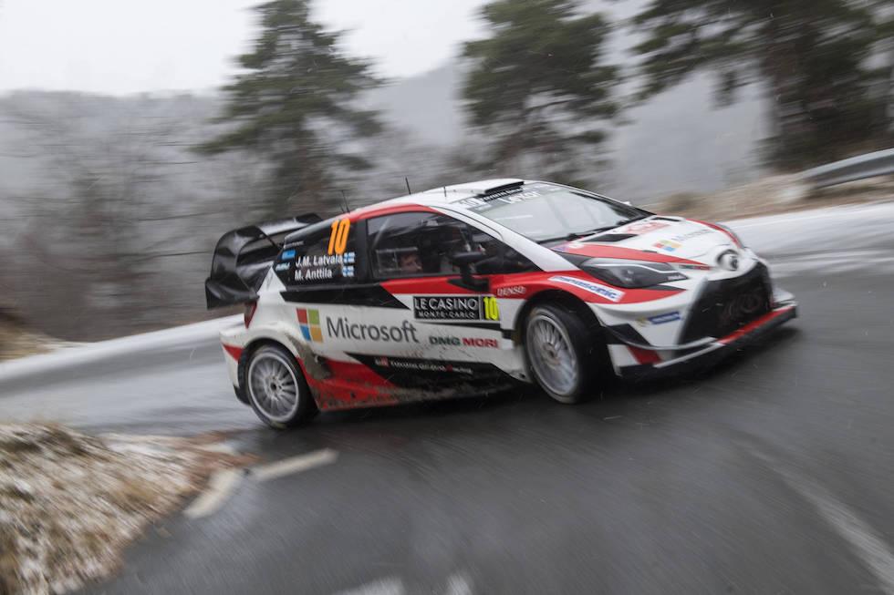 Latvala Toyota WRC 2017