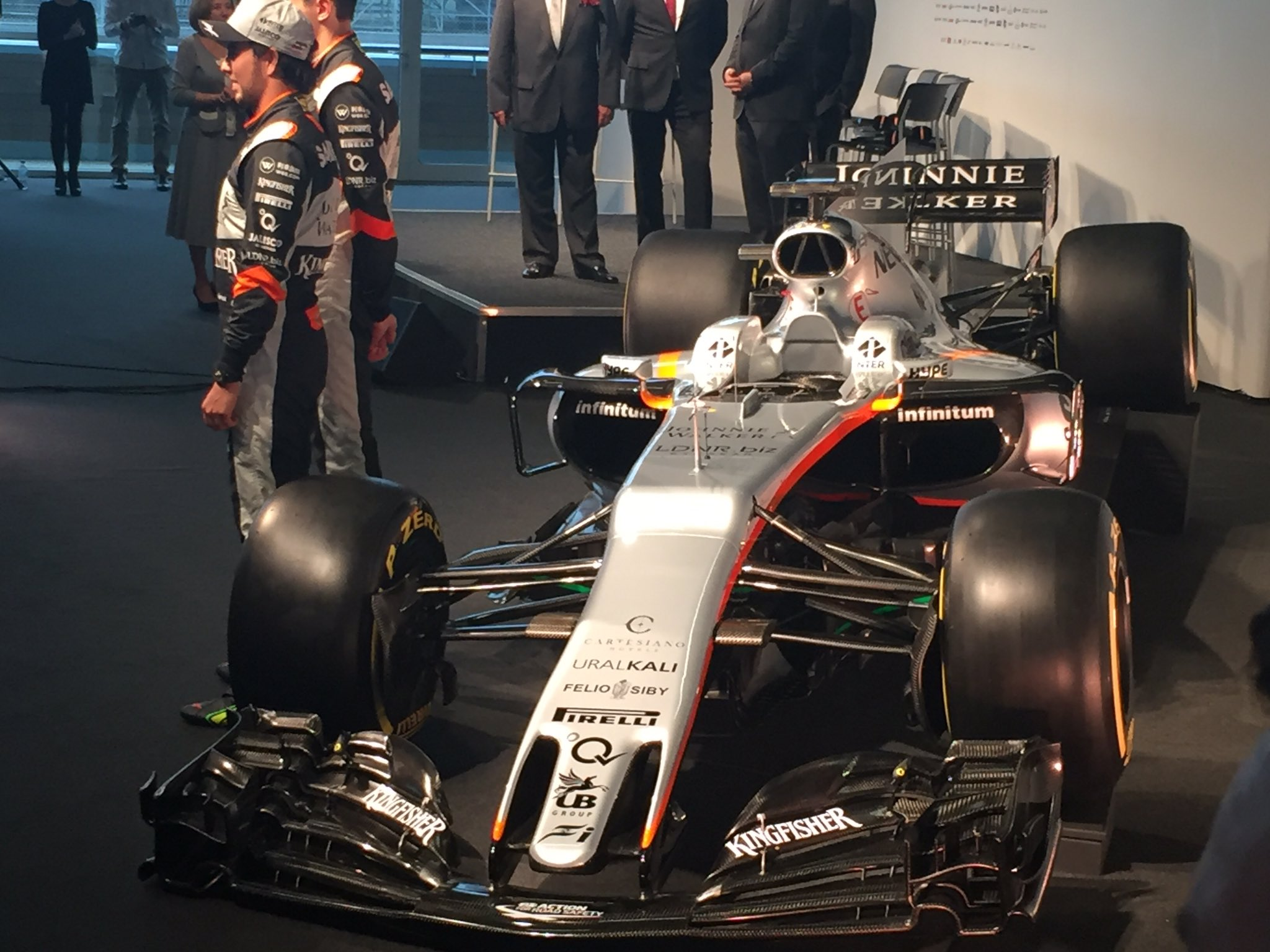 Force India VJM10 Launch 2017