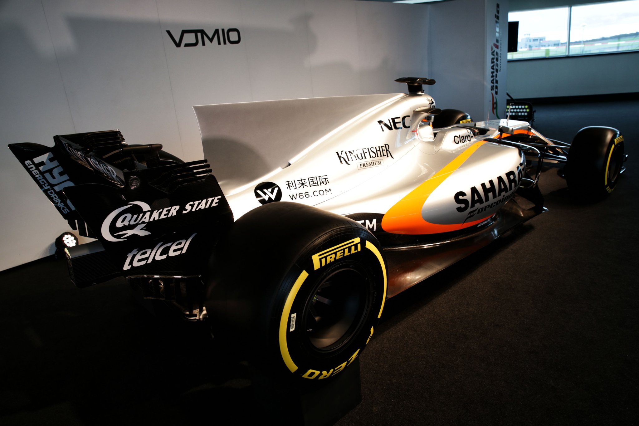 Force India VJM10 Launch